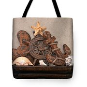 Nautical Still Life Iv Tote Bag by Tom Mc Nemar