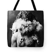 Navajo Mask, C1905 Tote Bag by Granger