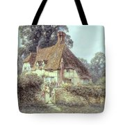 Near Witley Surrey Tote Bag by Helen Allingham