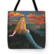 Neptune's Folly Tote Bag by Patricia Griffin Brett