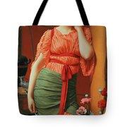 Nerissa Tote Bag by John William Godward