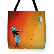 Never Let Go Tote Bag by Cindy Thornton