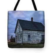 New Day Old House Tote Bag by John Greim