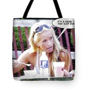 New Diet Tote Bag by Brian Wallace