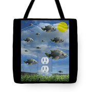 New Energy Tote Bag by Keith Dillon