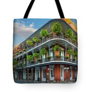 New Orleans House Tote Bag by Inge Johnsson