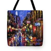 New Orleans Storm Tote Bag by Debra Hurd