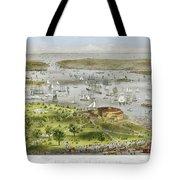 New York Harbor, 1872 Tote Bag by Granger