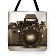 Nikon F3 Hp Tote Bag by Mike McGlothlen