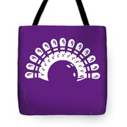 No010 My Big Lebowski minimal movie poster Tote Bag by Chungkong Art