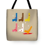 No069 My Reservoir Dogs Minimal Movie Poster Tote Bag by Chungkong Art
