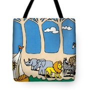 Noah's Ark Tote Bag by Genevieve Esson