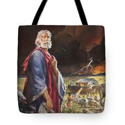 Noah's Ark Tote Bag by James Edwin McConnell