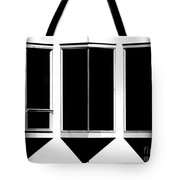None More Black Tote Bag by CML Brown