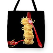 Noodles-pasta Tote Bag by Manfred Lutzius