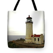 North Head Lighthouse - Graveyard Of The Pacific - Ilwaco Wa Tote Bag by Christine Till