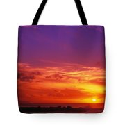 North Shore Sunset Tote Bag by Vince Cavataio - Printscapes
