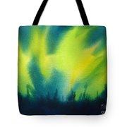 Northern Lights I Tote Bag by Kathy Braud