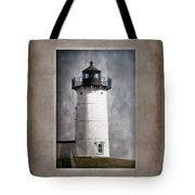 Nubble Light Maine Tote Bag by Carol Leigh