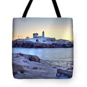 Nubble Sunrise Tote Bag by Susan Cole Kelly