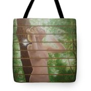 Nude Forest Tote Bag by Angel Ortiz