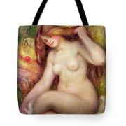 Nude Tote Bag by Renoir