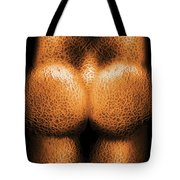 Nudist - Just Cheeky Tote Bag by Mike Savad