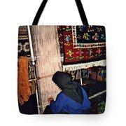 Nun Knotting Carpet Tote Bag by Sarah Loft