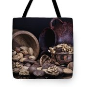 Nuts Tote Bag by Tom Mc Nemar