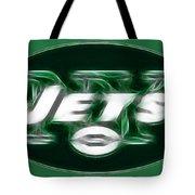 Ny Jets Fantasy Tote Bag by Paul Ward