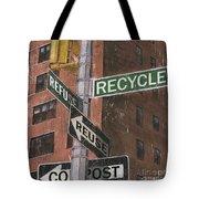 NYC Broadway 1 Tote Bag by Debbie DeWitt