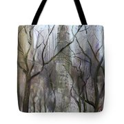 Nyc Central Park 1995 Tote Bag by Ylli Haruni