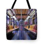 NYC Subway Tote Bag by Kelley King