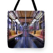 Nyc Subway Tote Bag by Kelley King