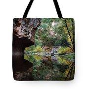 Oak Creek Canyon Reflections Tote Bag by Dave Dilli