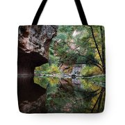 Oak Creek Canyon Reflections Tote Bag by Dave Dilli