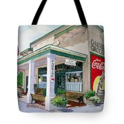 Oakville Grocery Tote Bag by Gail Chandler