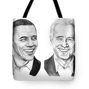 Obama Biden Tote Bag by Murphy Elliott