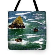 Ocean Rock Tote Bag by Marty Koch