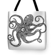 Octopus Tote Bag by Carol Lynne
