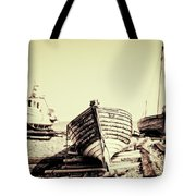 Of Different Eras Tote Bag by Meirion Matthias