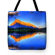 Of Geese and Gods Tote Bag by Scott Mahon