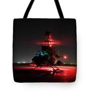 Oh-58d Kiowa Pilots Run Tote Bag by Terry Moore