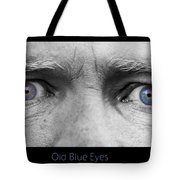 Old Blue Eyes Poster Print Tote Bag by James BO  Insogna