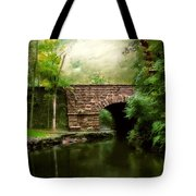 Old Country Bridge Tote Bag by Jessica Jenney