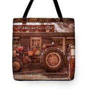 Old Days Vintage Tote Bag by Debra and Dave Vanderlaan