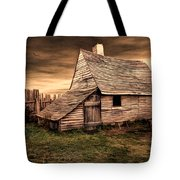 Old English Barn Tote Bag by Lourry Legarde