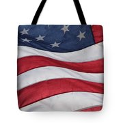 Old Glory Tote Bag by Lauri Novak