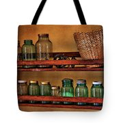 Old Jars Tote Bag by Lana Trussell