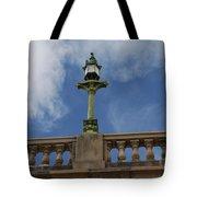 Old London Bridge - Az Tote Bag by Carol  Eliassen